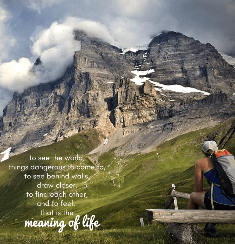 eiger meaning of life