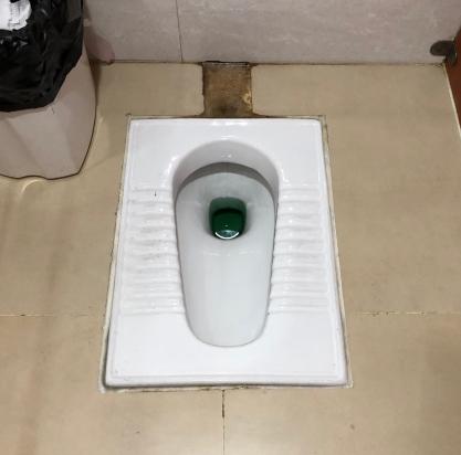 Yangon Airport Toilet